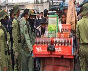 Forced removal of street vendors