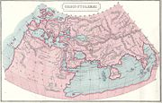 Greek Ptolemy's map of the world 150 AD, where's Jakarta?